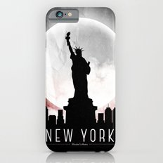Black-White New York iPhone 6s Slim Case