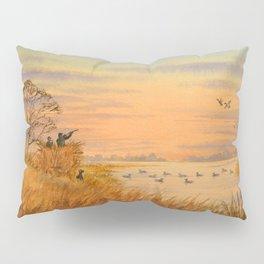 Duck Hunters Calling Pillow Sham