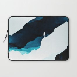 Teal Isolation Laptop Sleeve