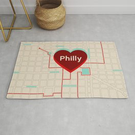 Philly In Transit Rug