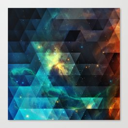Galaxies I Canvas Print