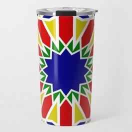 Art Moorish Arabesque Moroccan 2 Travel Mug