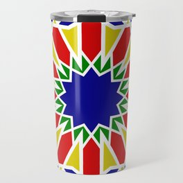 Art Moorish Arabesque Moroccan 2 Travel Mug