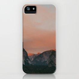 Yosemite National Park Sunset iPhone Case