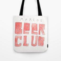 MARCOS BEER CLUB Tote Bag