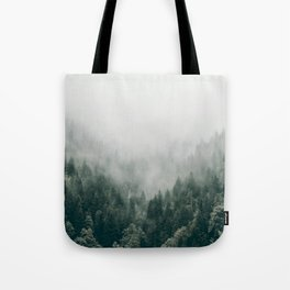 Foggy Forest 3 Tote Bag