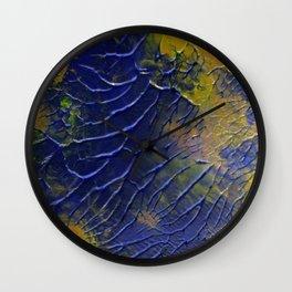 Rainbow Veins Wall Clock