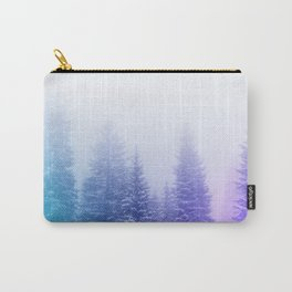 Blue and Purple Pines Carry-All Pouch