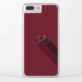 Bike Clear iPhone Case
