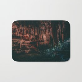 Deep Moody Cave Mouth Bath Mat