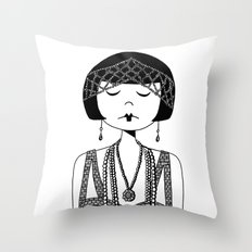 Star of the Silver Screen Throw Pillow