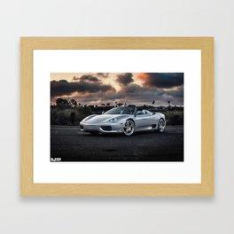 F360 Framed Art Print