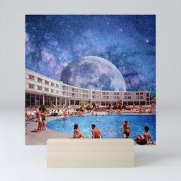 Summer in Space Mini Art Print