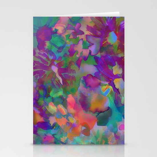 Jungle Floral Stationery Cards