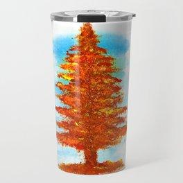 Fall Tree Travel Mug