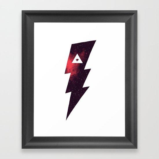 Darkish Matter Framed Art Print