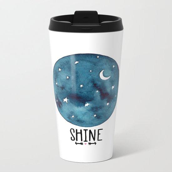 Shine Metal Travel Mug