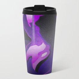 Nude In Lilac and PurplePurple Young Beautiful Nude Woman With Towel Travel Mug