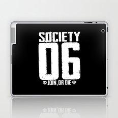 S6 Tee - JOIN, or DIE  Laptop & iPad Skin
