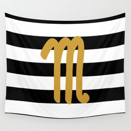 Scorpio Stripes Wall Tapestry