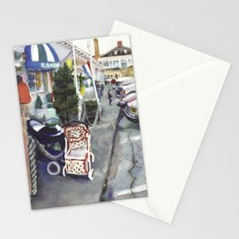 Jamestown waterfront, Fall 1997 Stationery Cards