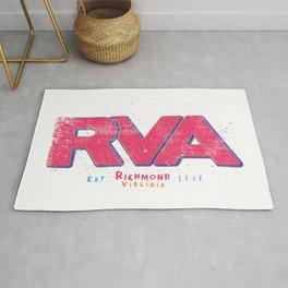 Rva Logo | ' Graffiti Style ' Rug