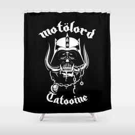 Motorlord Sith Metal Shower Curtain