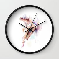 ballet Wall Clocks featuring ballet  by tatiana-teni