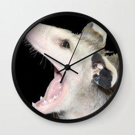 Say Ahhhhh Wall Clock
