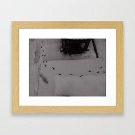 Cold winter - UK Framed Art Print