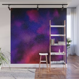 The Journey Not Taken: Abstract Art Wall Mural