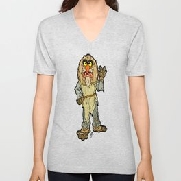 The Muppets' Sweetums!  In honor of John Henson and Jim Henson Unisex V-Neck