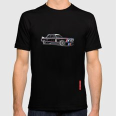 BMW CSL Turbo MEDIUM Black Mens Fitted Tee