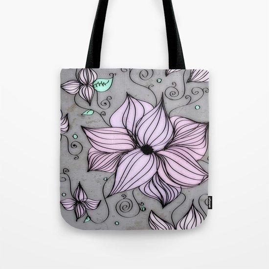 Fleurs Tote Bag