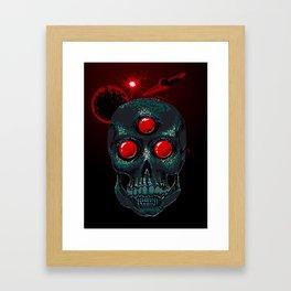 Horror From Beyond Time and Spaaaaaaace! Framed Art Print