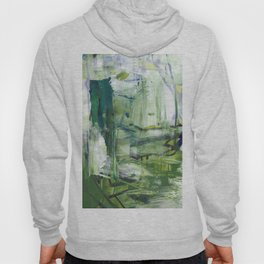 355 Jungle Lane Fine Art Abstract Painting Hoody