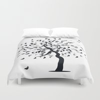 clear Duvet Covers featuring Clear by zabalza