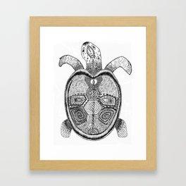 Be yourshellf Framed Art Print