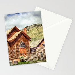 Old West Town Stationery Cards