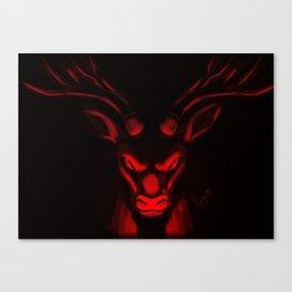 Vindictive Rudolph Canvas Print