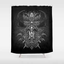 Winya No. 80 Shower Curtain