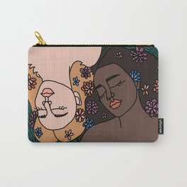 Portrait of Sleeping Women Carry-All Pouch