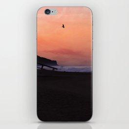 Peach Skies iPhone Skin