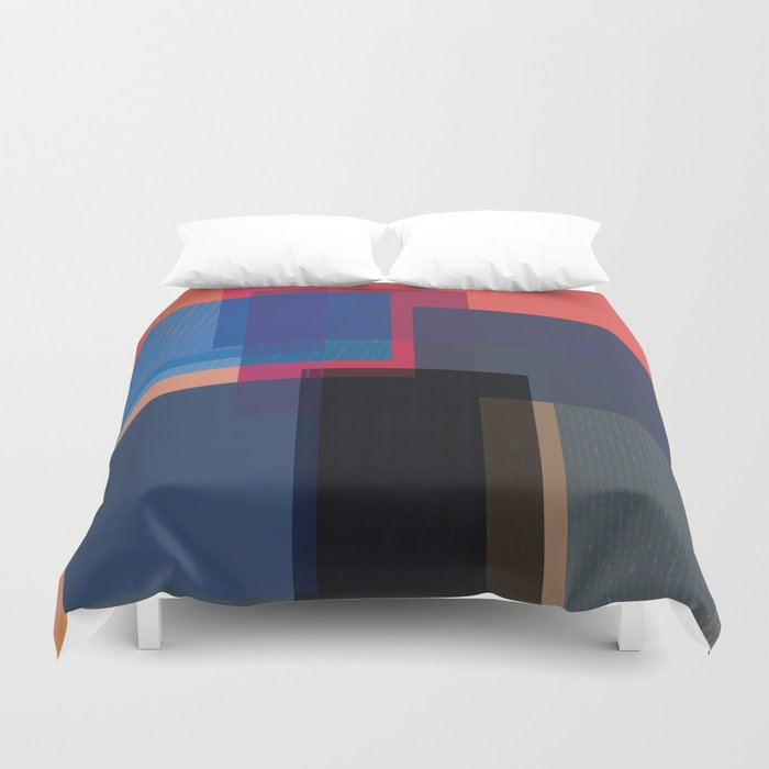 When the Walls Fall Duvet Cover