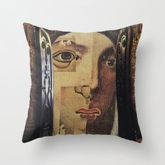 Collage No.53 Throw Pillow