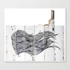 Featherwood Canvas Print