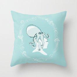 Sailor's Valentine - The Octopus Throw Pillow