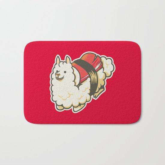 Alpaca Sushi Niguiri III Bath Mat