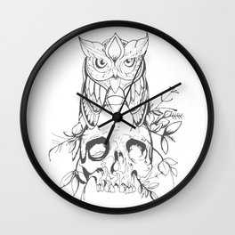Sabiduría Wall Clock
