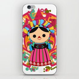 Maria 3 (Mexican Doll) iPhone Skin